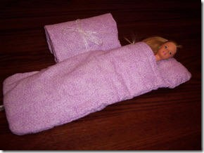 dollsleepingbag