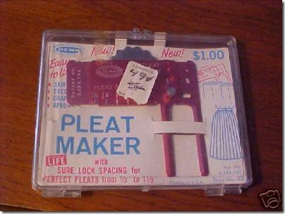 pleatmaker