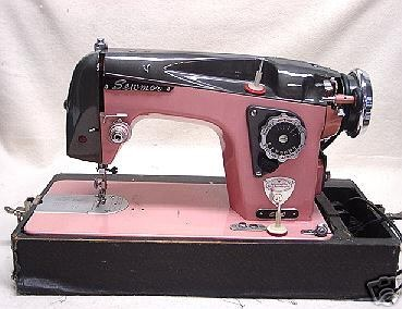 Dressmaker Sewing Machine Vintage | Elizabeth Carrol Sewing