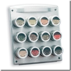 mesh spice rack design ideas