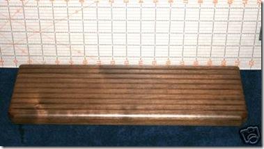 wooden ruler rack