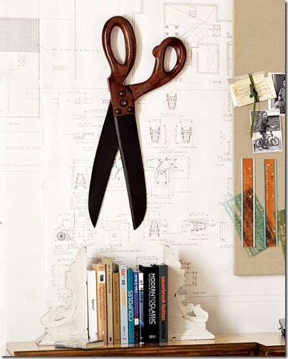 tales of a trophy wife 1 ginormous scissors. Black Bedroom Furniture Sets. Home Design Ideas