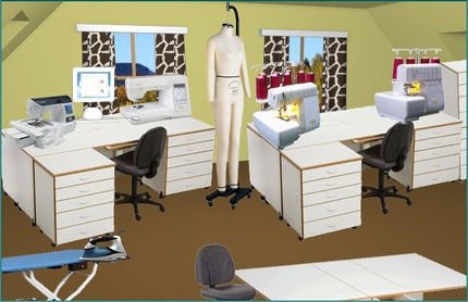 sewing room ideas - Sewing Room Design Ideas