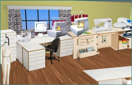 Design Your Own Ultimate Sewing Room Contest THE