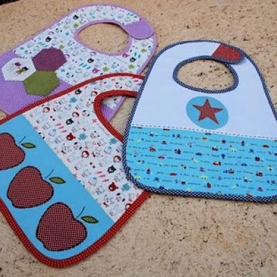 Sew Gifts For A New Baby Boy Bibs Burp Cloths Blankets